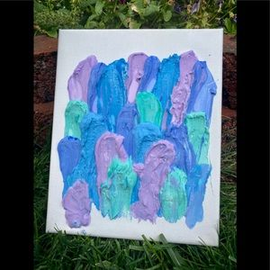 "⭐️ Handmade Textured ""Bubble Gum "" Art (v4)"